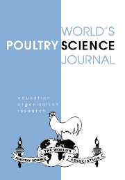 World's Poultry Science Journal Volume 63 - Issue 4 -