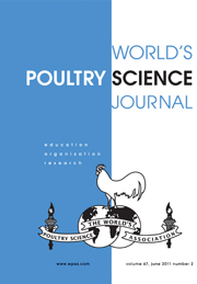 World's Poultry Science Journal Volume 67 - Issue 2 -