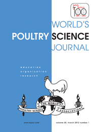 World's Poultry Science Journal Volume 68 - Issue 1 -