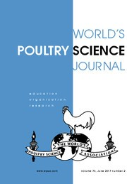 World's Poultry Science Journal Volume 73 - Issue 2 -