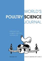 World's Poultry Science Journal Volume 73 - Issue 3 -