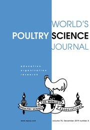 World's Poultry Science Journal Volume 75 - Issue 4 -