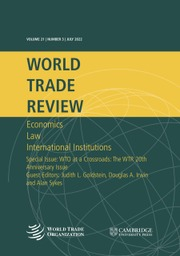 World Trade Review