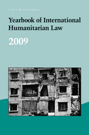 Yearbook of International Humanitarian Law Volume 12 - Issue  -