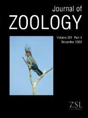 Journal of Zoology Volume 261 - Issue 4 -