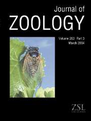 Journal of Zoology Volume 262 - Issue 3 -