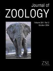 Journal of Zoology Volume 264 - Issue 2 -