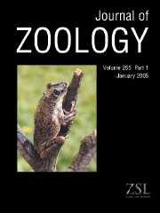 Journal of Zoology Volume 265 - Issue 1 -