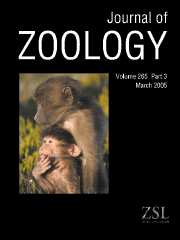 Journal of Zoology Volume 265 - Issue 3 -