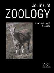 Journal of Zoology Volume 266 - Issue 2 -