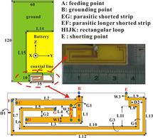 Small-size LTE/WWAN monopole antenna with octa-band