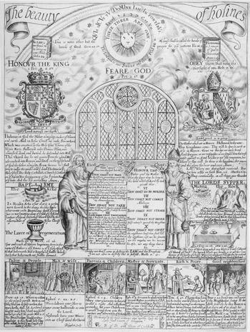Kings Design Schapenleren Bank.Word Against Image Chapter 9 Broken Idols Of The English