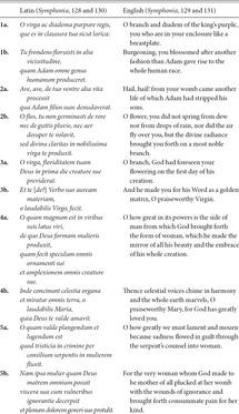 Introduction: O virga ac diadema – historiography of a song