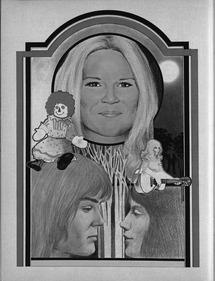 TV Times Jim Morrison Retro Pop Art Stylised Mens Varsity Jacket