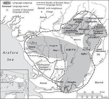 Greater Awyu Languages of West Papua in Typological