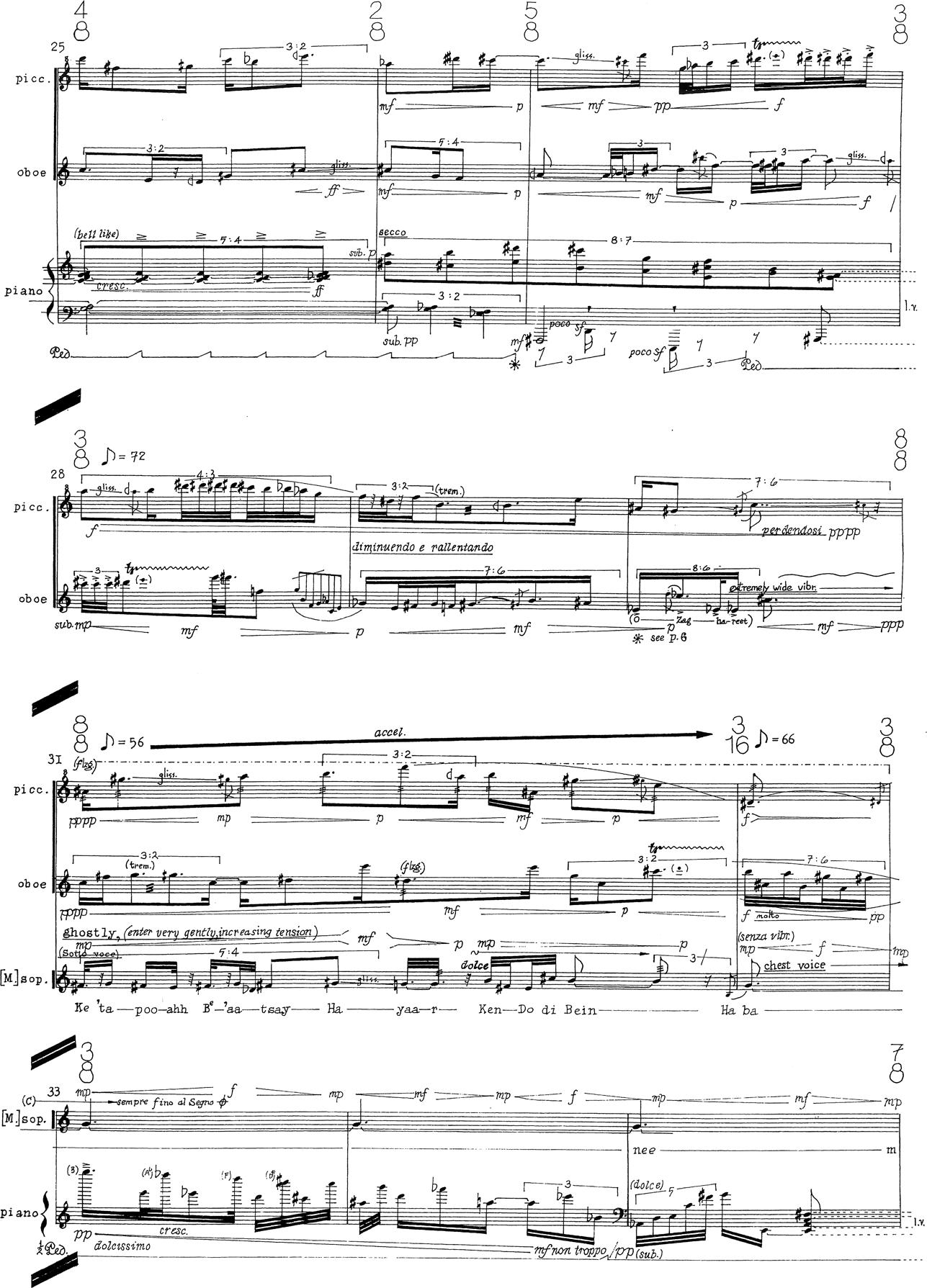 J.Dillon Blitzschlag for Flute /& Orchestra.