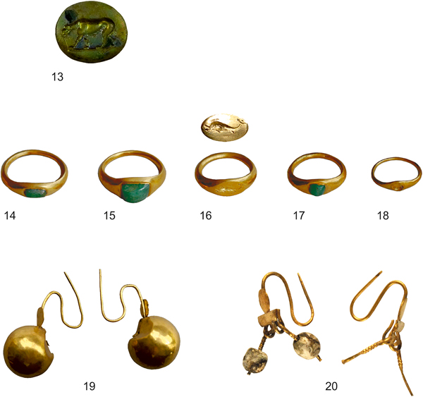 A Hoard of Military Awards, Jewellery and Coins from Colchester