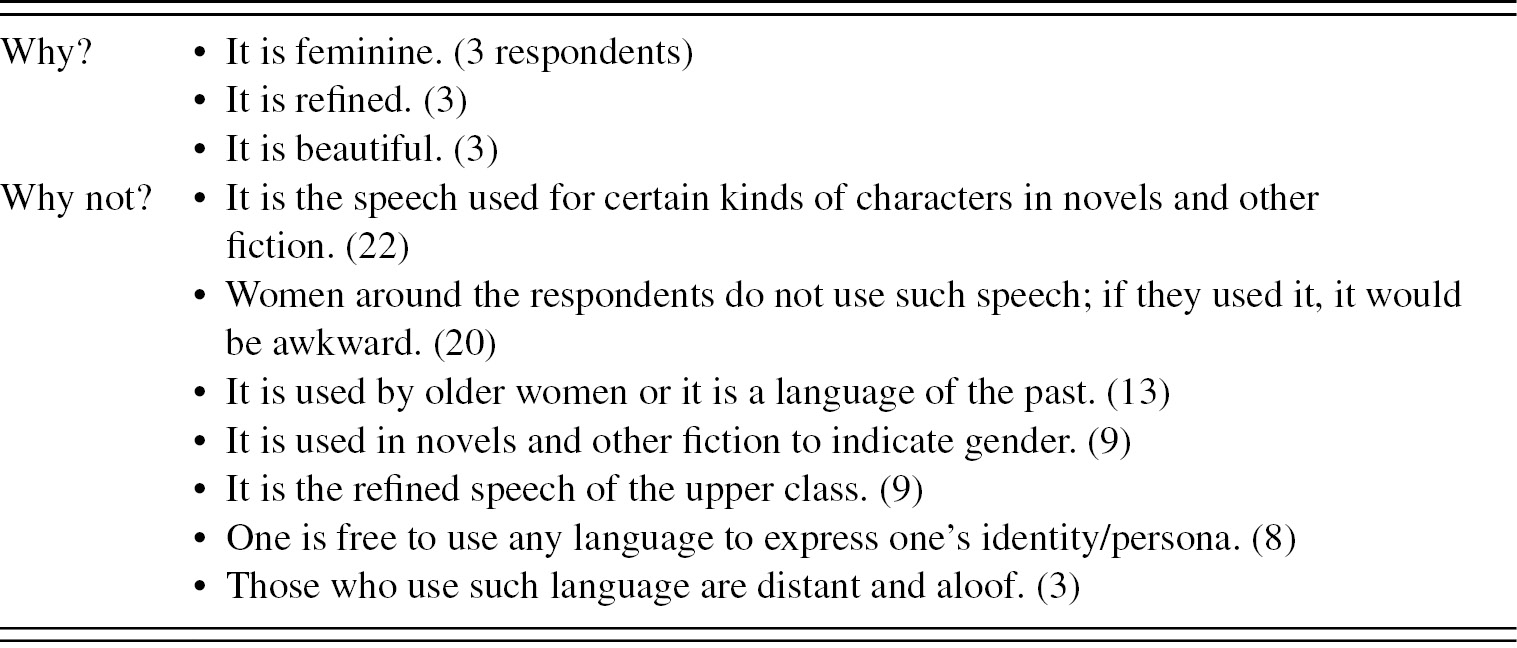Japanese language and gender (Part III) - The Social Life of
