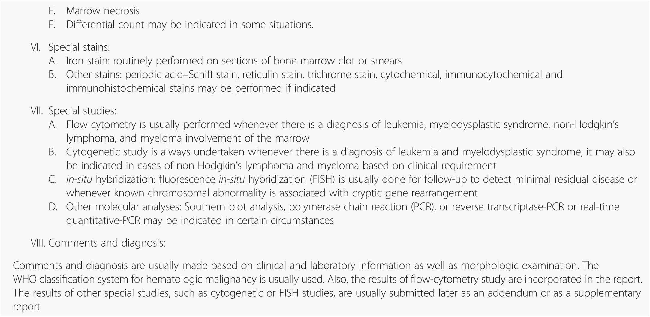 Bone marrow (Chapter 12) - Silverberg's Principles and