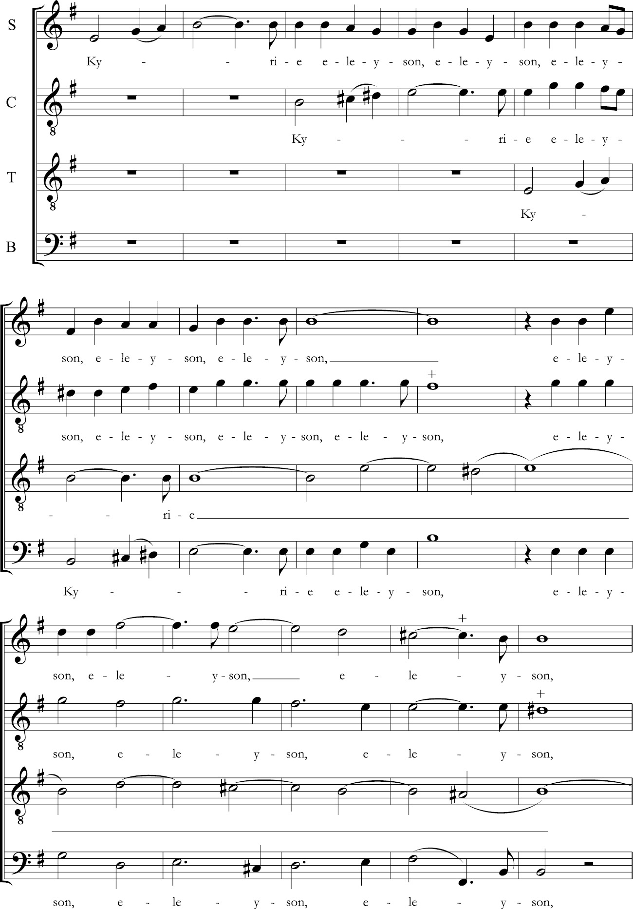 Stylistic Considerations (Chapter 6) - The Polyphonic Mass