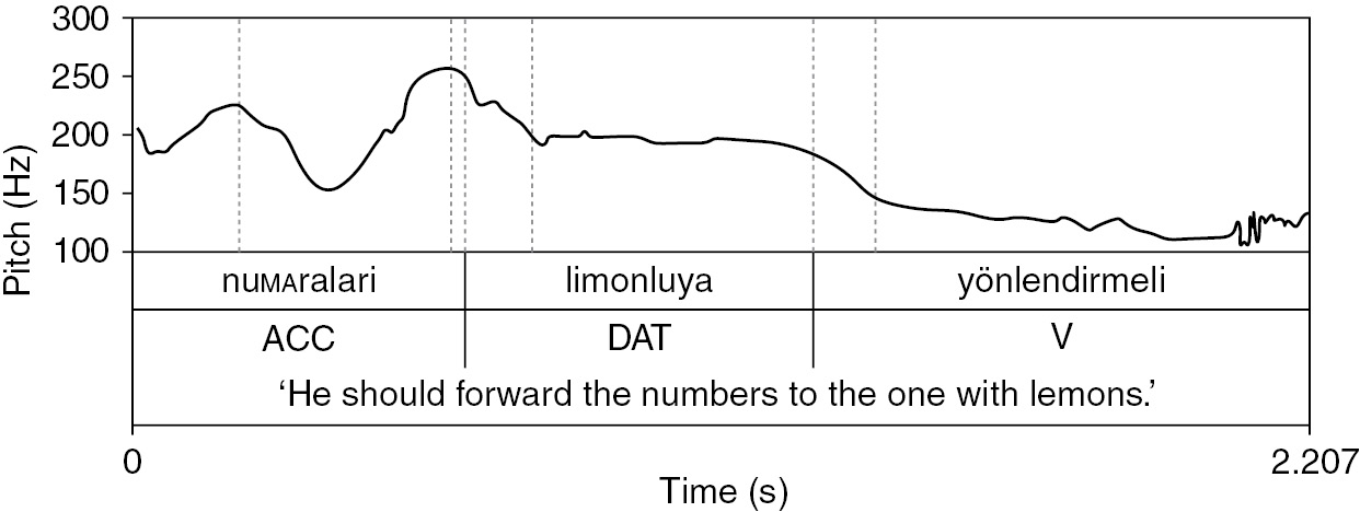 Sentence Intonation in a Typological Comparison (Chapter 8