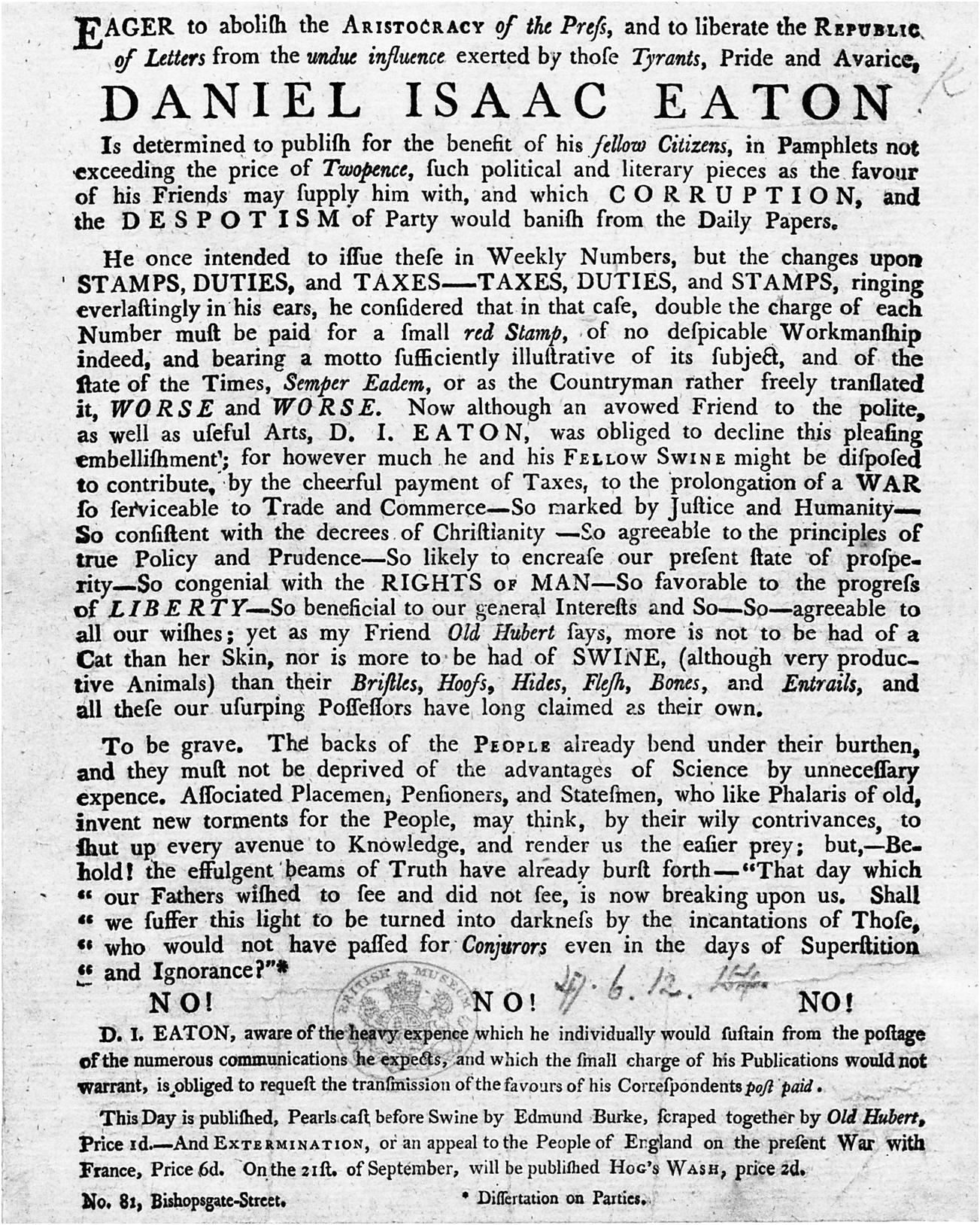 Publicity, print, and association (Part I) - Print