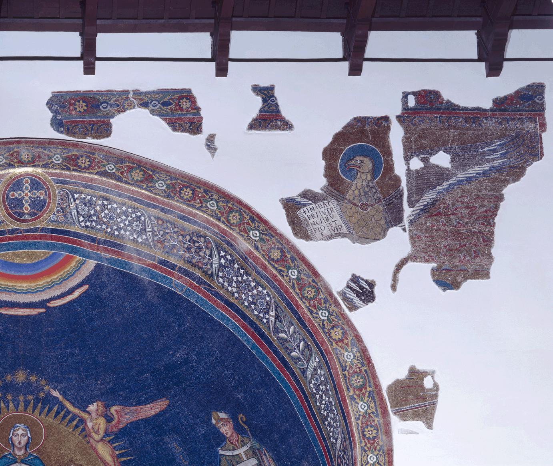 81 Small Mosaic Tile Sheet Tessera Ceramic Winter Sky