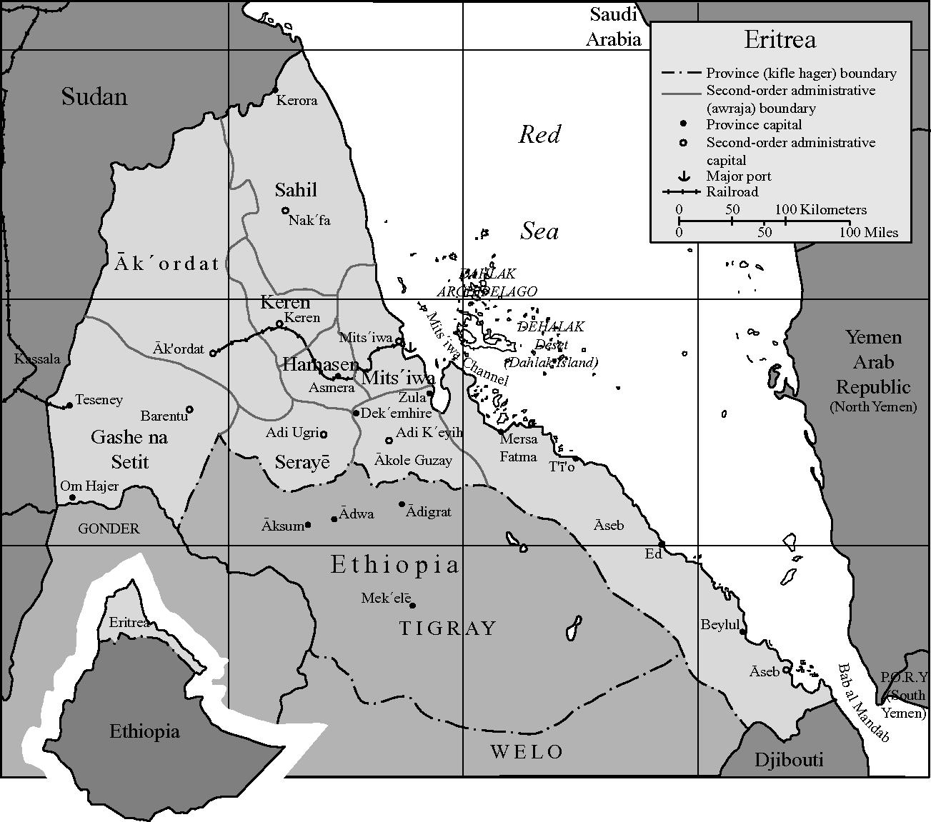 Rebellion in Ethiopia and Eritrea (Part II) - Insurgent