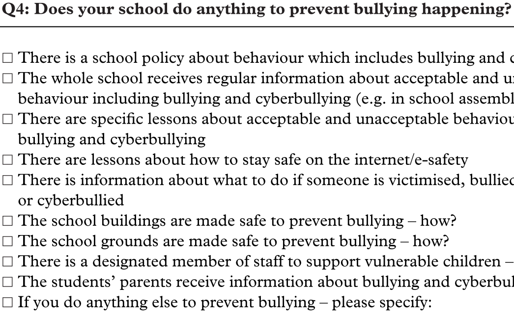 Working with Students and Teachers (Part III) - Bullying