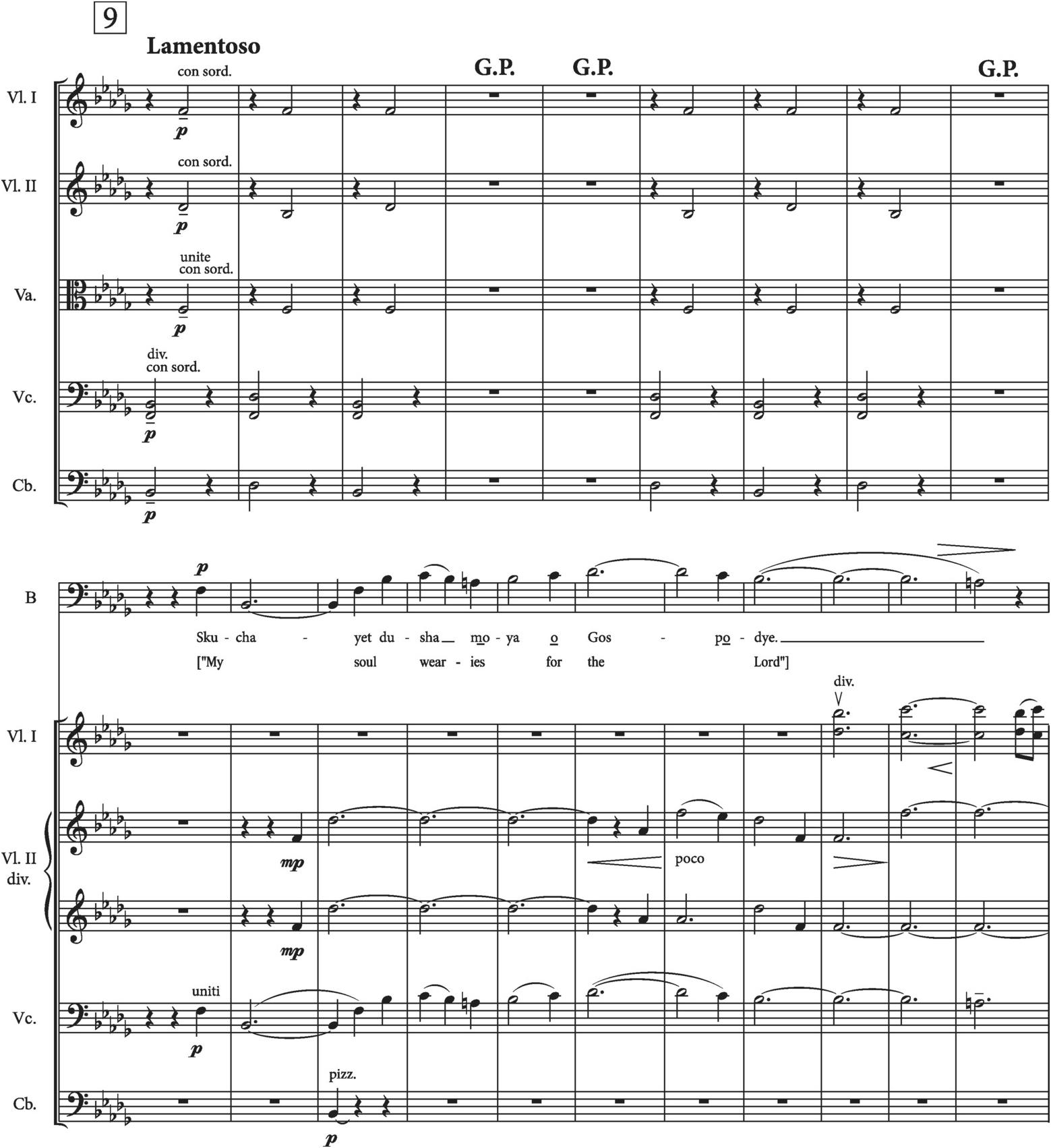 The Great Call : Satb Divisi Orch. German, English Language Edition from Symphony No. 2 Chorus Parts /& Piano