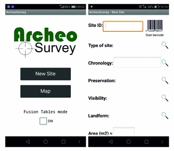 A Google-Based Freeware Solution for Archaeological Field