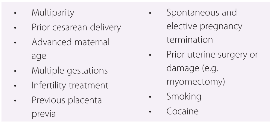 Uteroplacental Pathology (Section 8) - Placental and