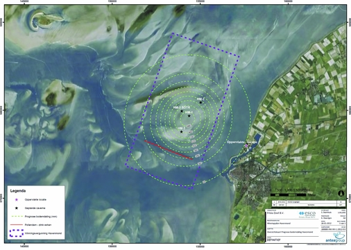 Subsidence in the Dutch Wadden Sea