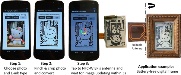 Low-cost wireless power efficiency optimization of the NFC