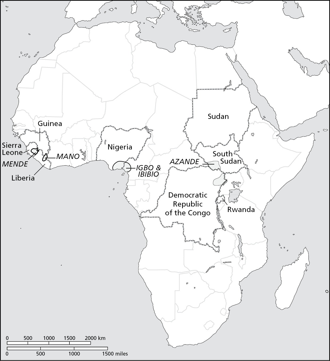 Chiefdoms in Central Africa (Chapter Eight) - The Power of