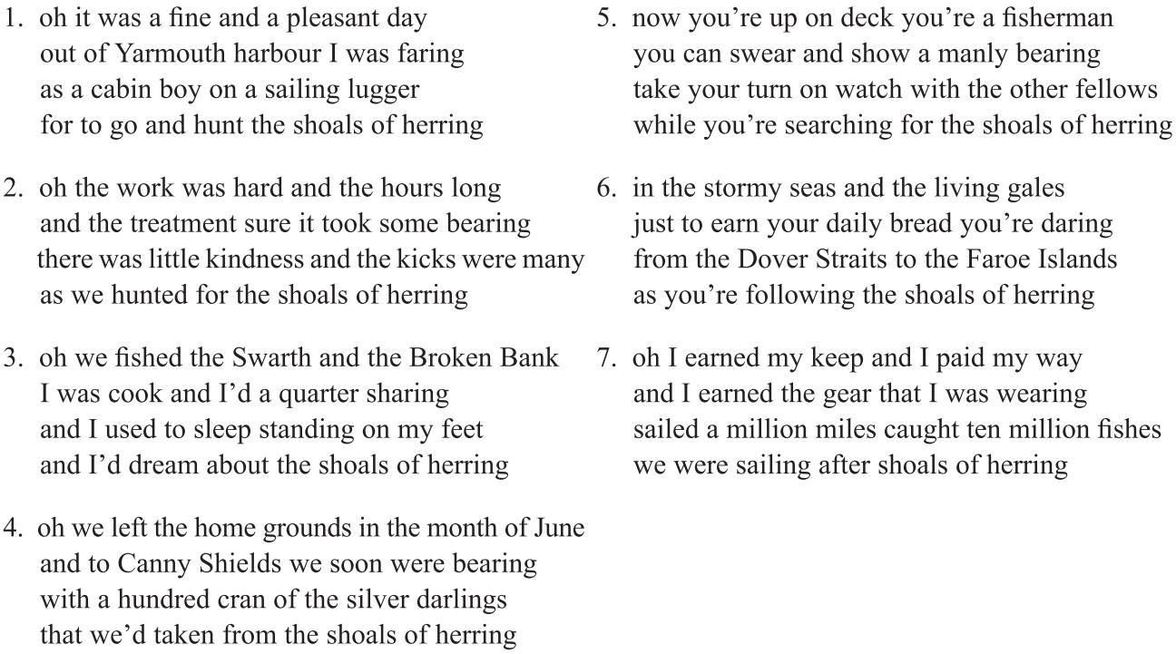 Variation in Language and Folk Song (Part II) - Language
