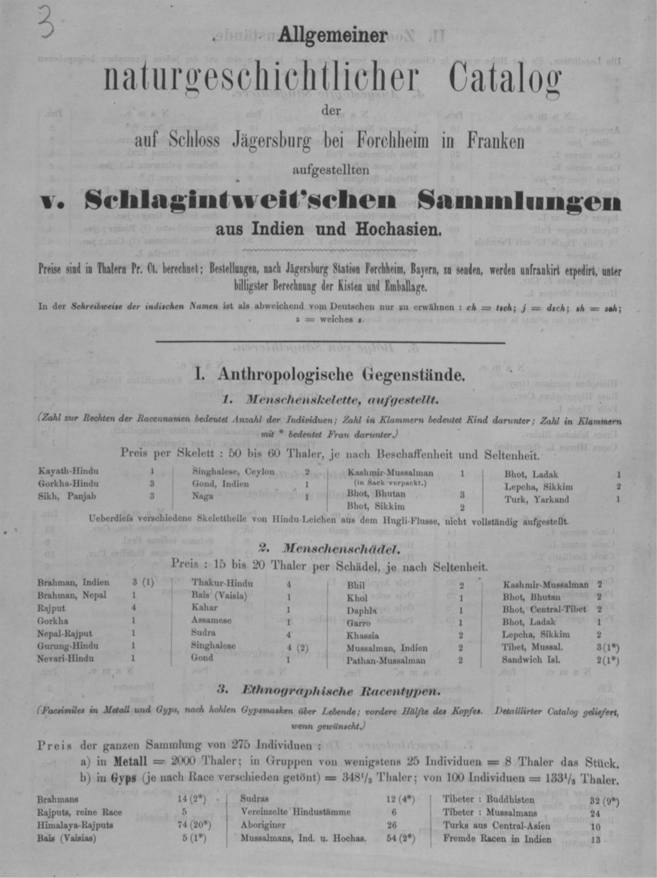 The Schlagintweit Collections, India Museums and the