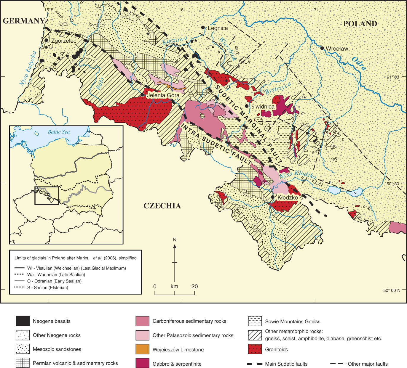 Drainage Evolution In The Polish Sudeten Foreland In The Context