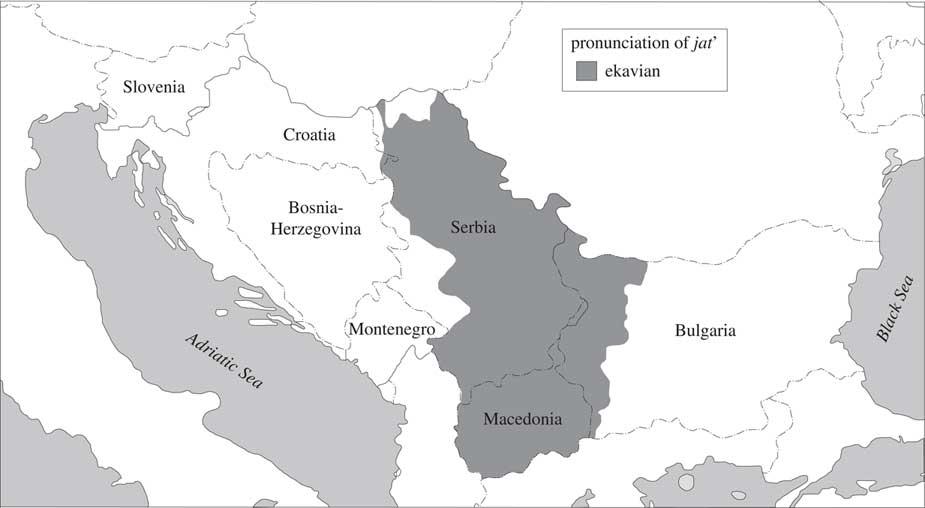 Borders And Boundaries In Bosnian Croatian Montenegrin And