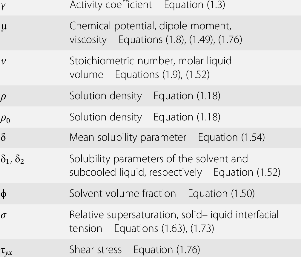 Solutions and Solution Properties (Chapter 1) - Handbook of