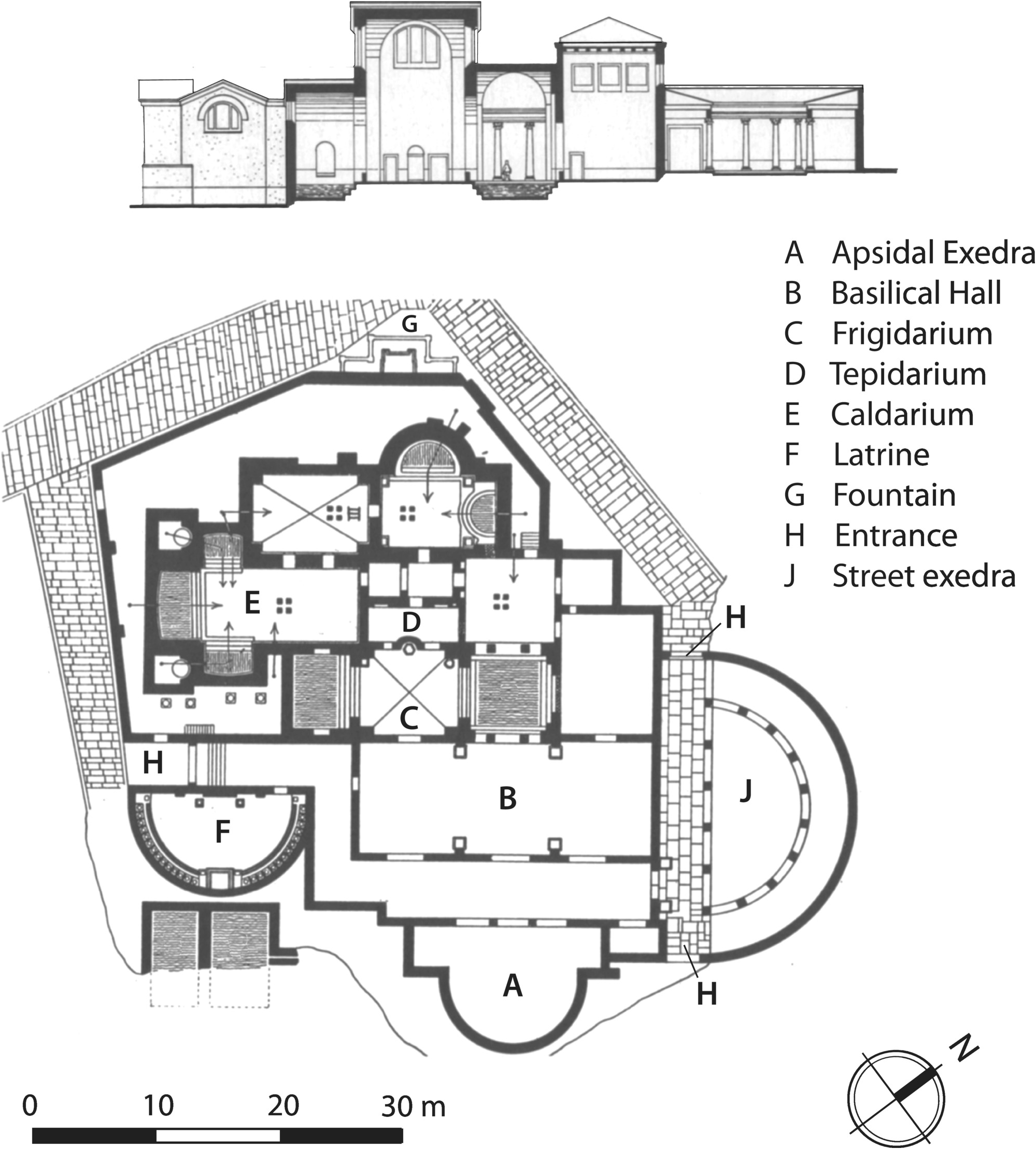 Plan D Une Case Africaine architecture and planning in north africa (chapter 8