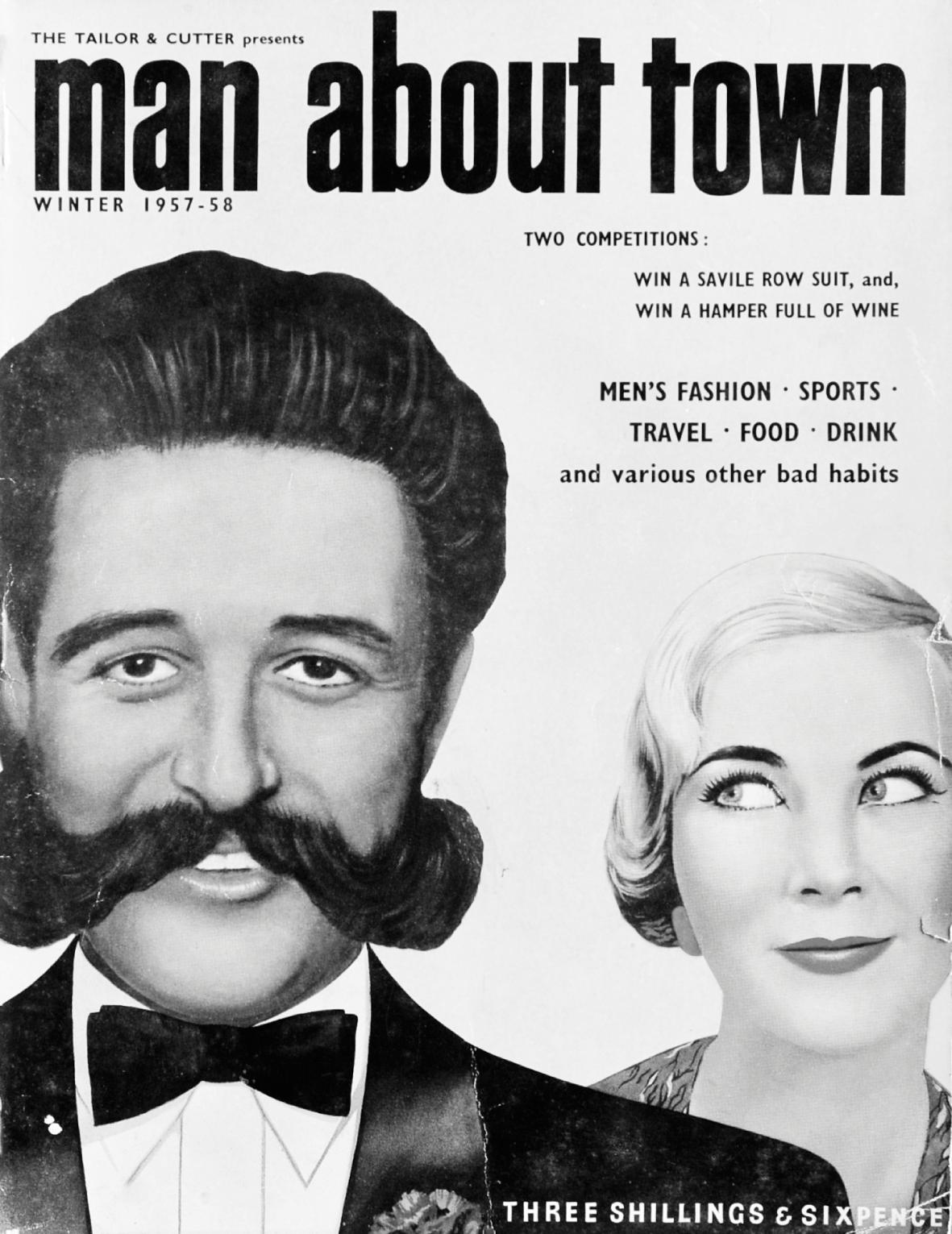 Old Magazine cover Poster reproduction Gay book 1937