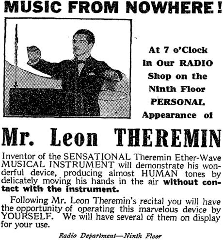 Theremin in the Press: Instrument remediation and code