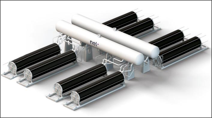 Nel – 1,50 $ für 1 kg Wasserstoff bis 2015