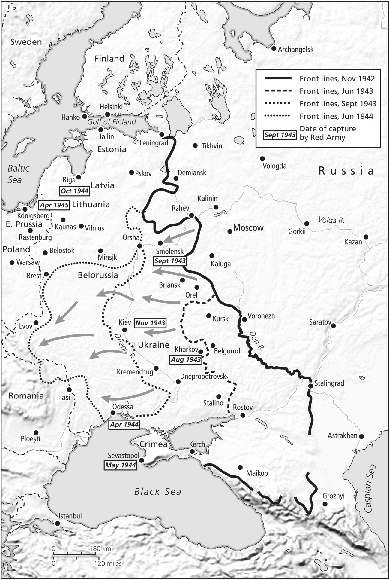Operations On The Eastern Front 1941 1945 Chapter 12 The Cambridge History Of The Second World War