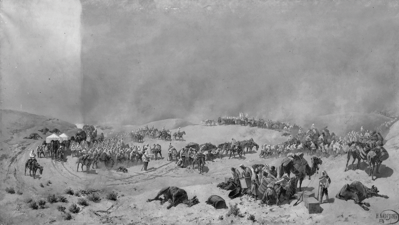 The Fall Of Khiva 1872 3 Chapter 7 The Russian Conquest Of Central Asia