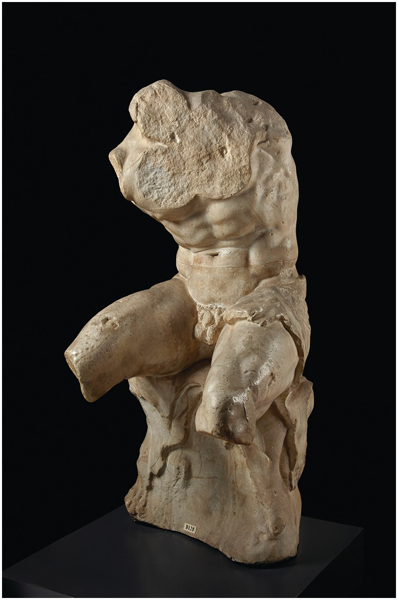 Sand Sculptured Engraved Original Design Erotic Male Art E-4