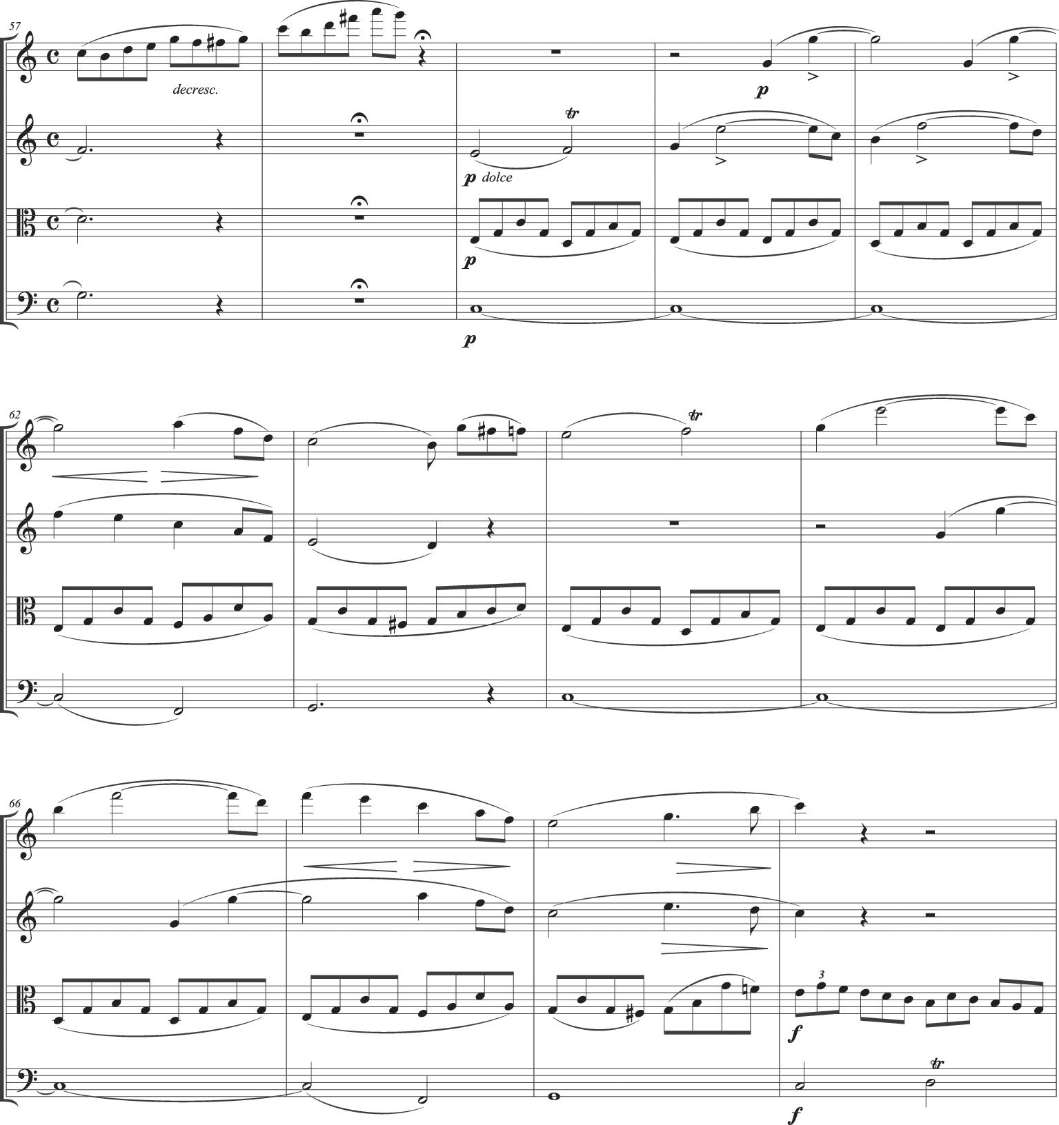 Schubert's first public quartet and sonata form (Chapter 5