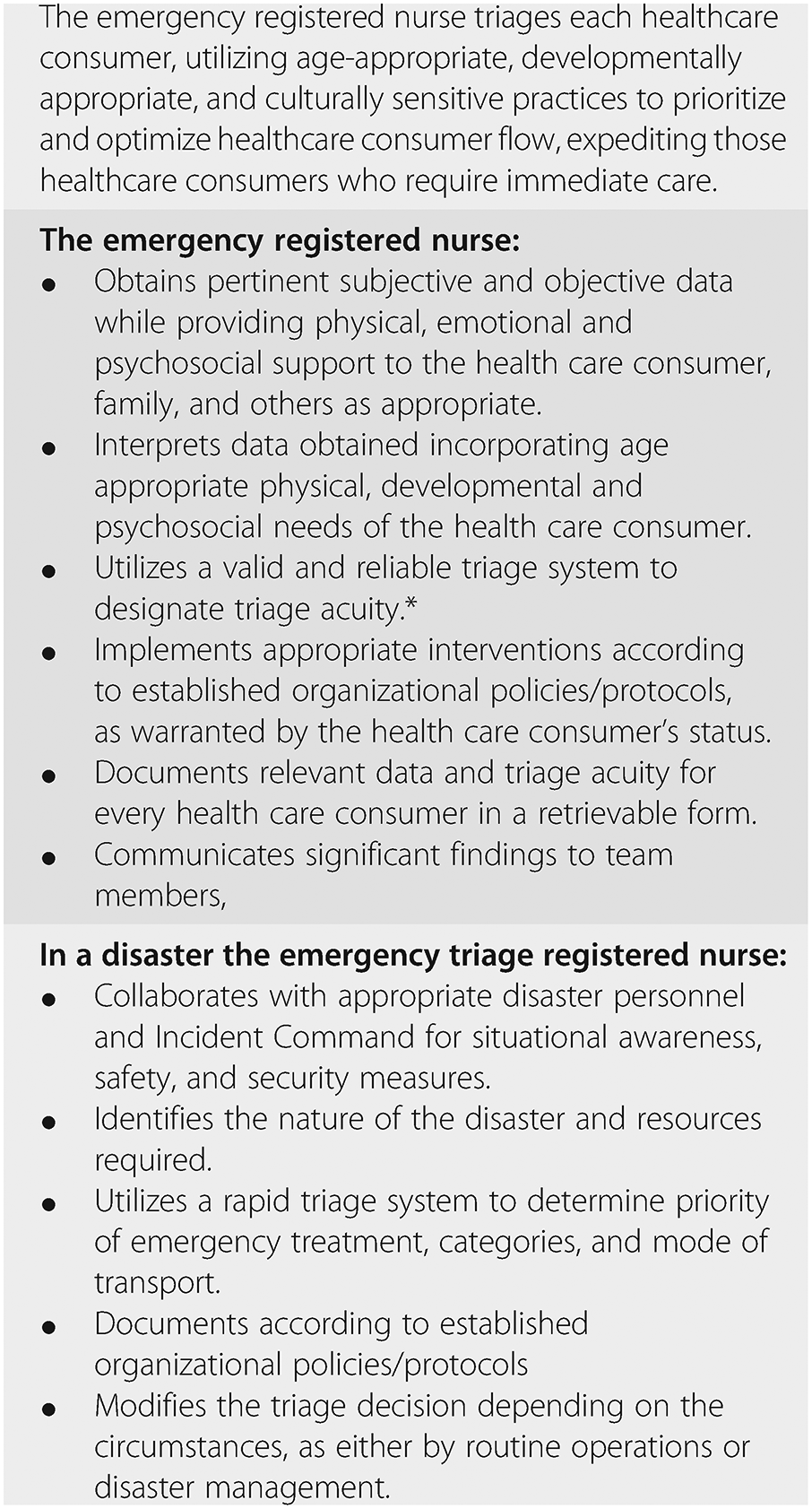 Operational principles (Section 3) - Emergency Department ... on