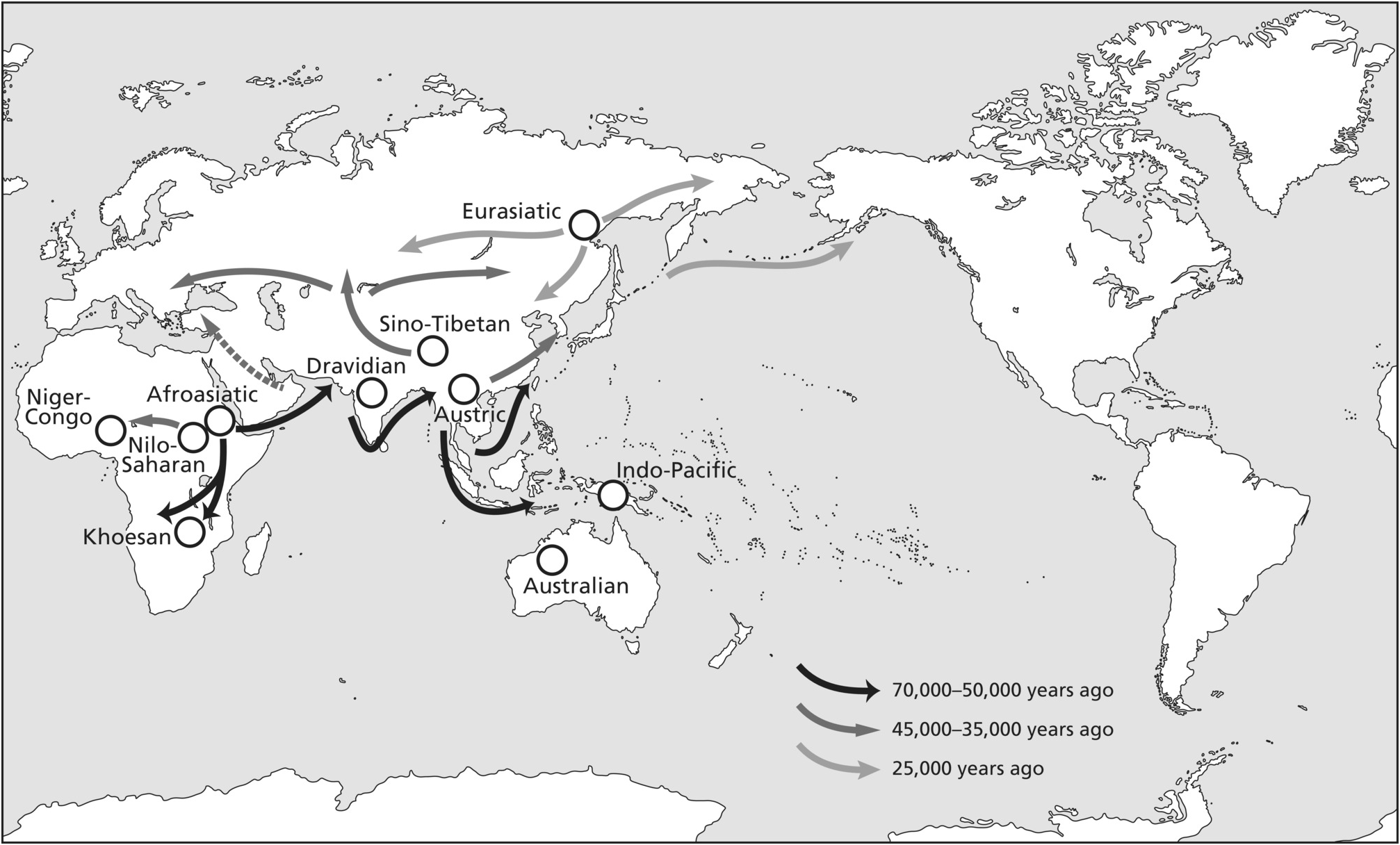 Map Of Australia 20000 Years Ago.Migration In Human History Chapter 12 The Cambridge World History